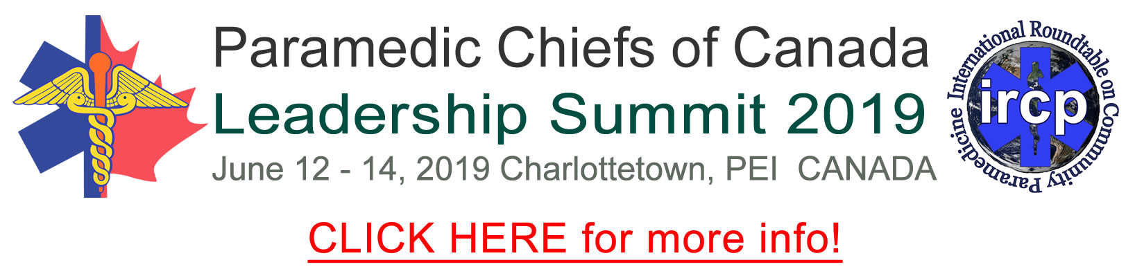 Image result for paramedic chiefs leadership summit charlottetown